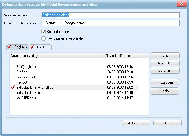 staffITpro WEB Hilfe - Fremdsprachen verwenden